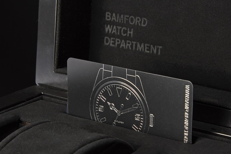 Progress Packaging Bamford Watch Department Creative Wooden Box Luxury