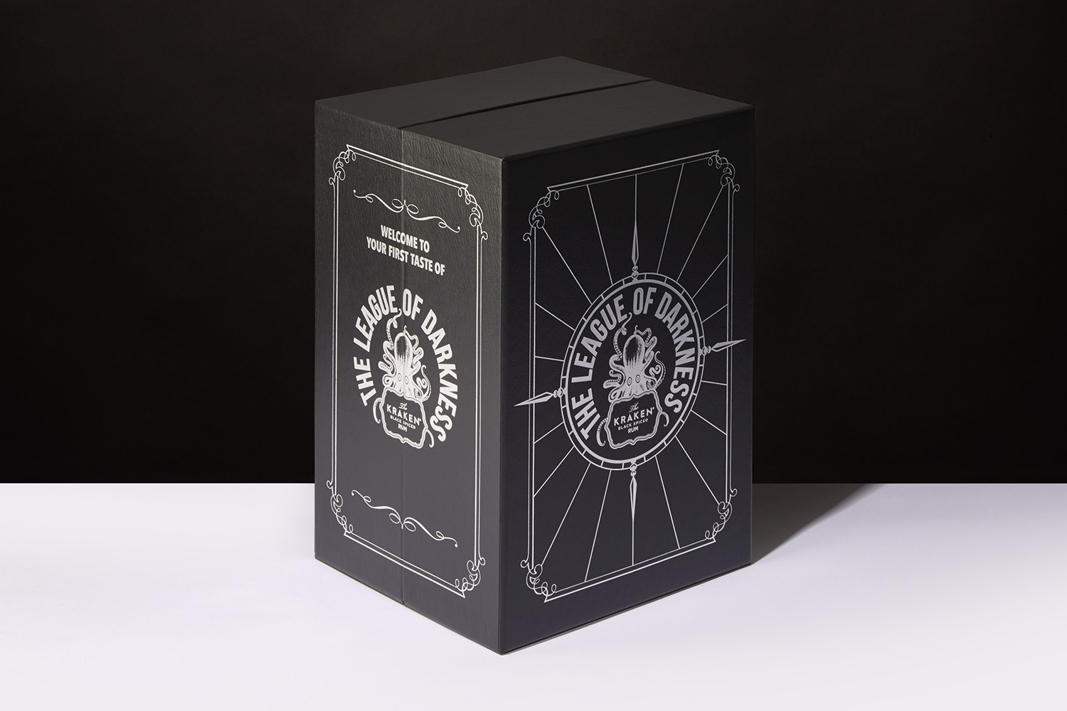 Progress Packaging Creative Luxury Drinks Paper Over Board Box