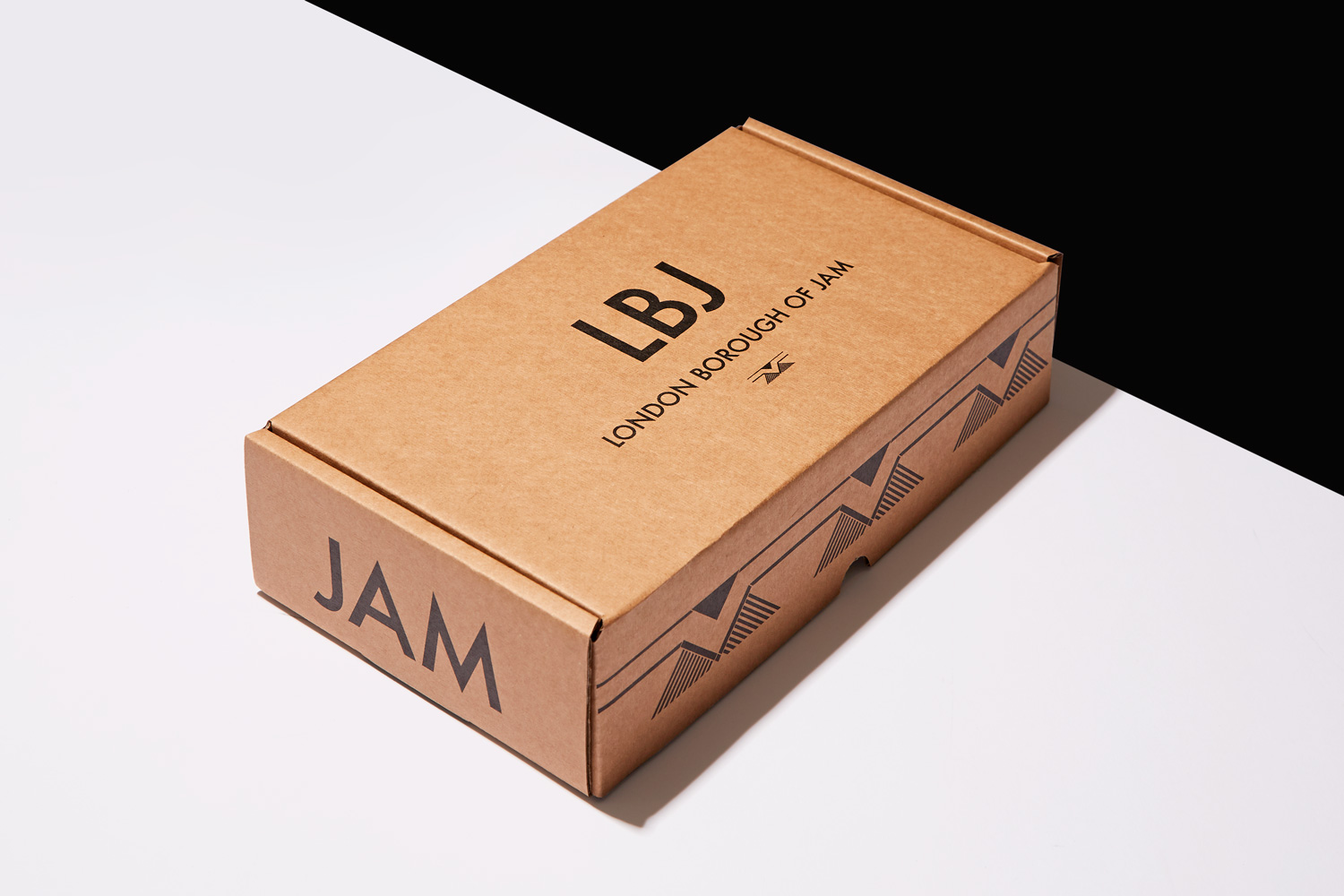 Progress Packaging LBJ London Borough Of Jam Retail Transit Ecommerce Corrugate Box
