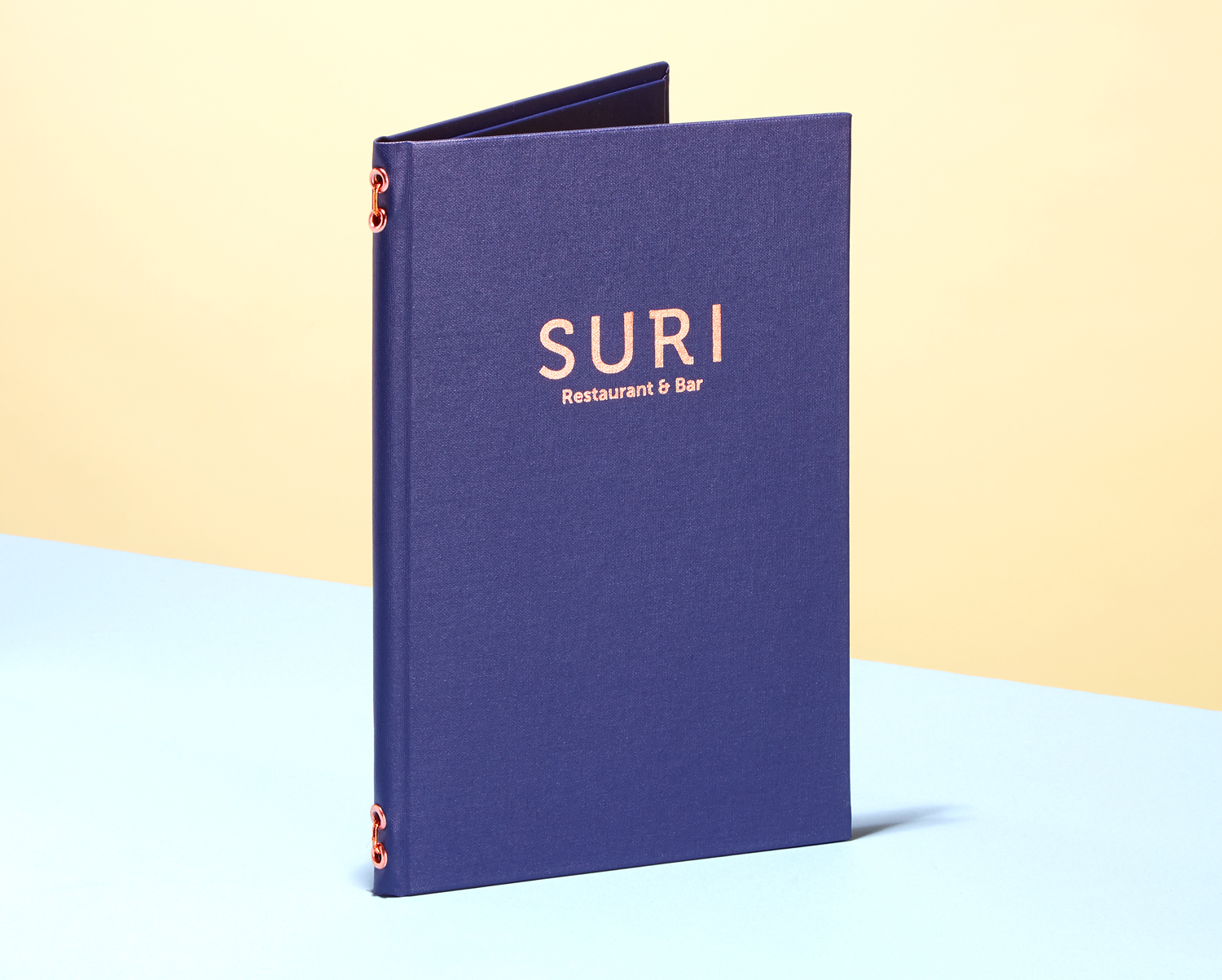 Progress Packaging Luxury Bespoke Creative Reataurant Menu Suri