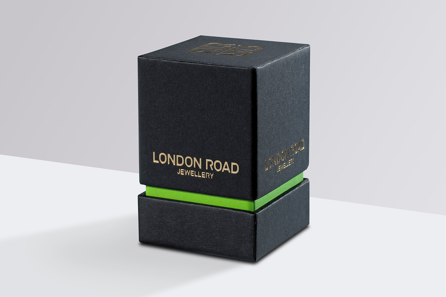 Progress Packaging London Road SEA Creative Jewellery Box Foil Block