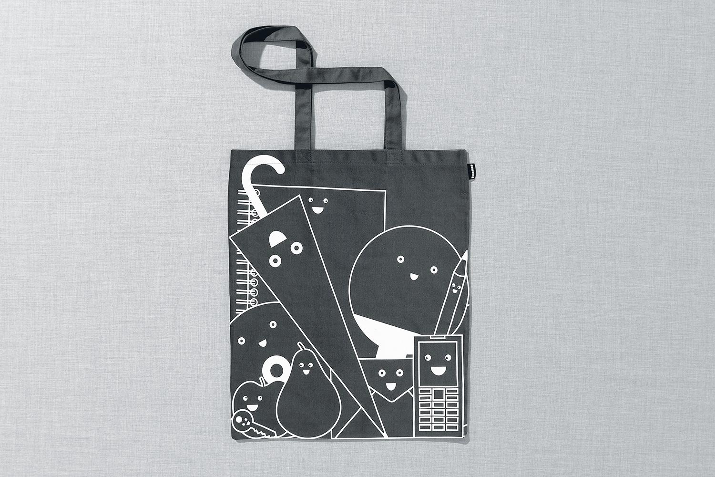 Progress Packaging Re Bag Tote Creative Luxury Bespoke Airside Screen Printed Canvas