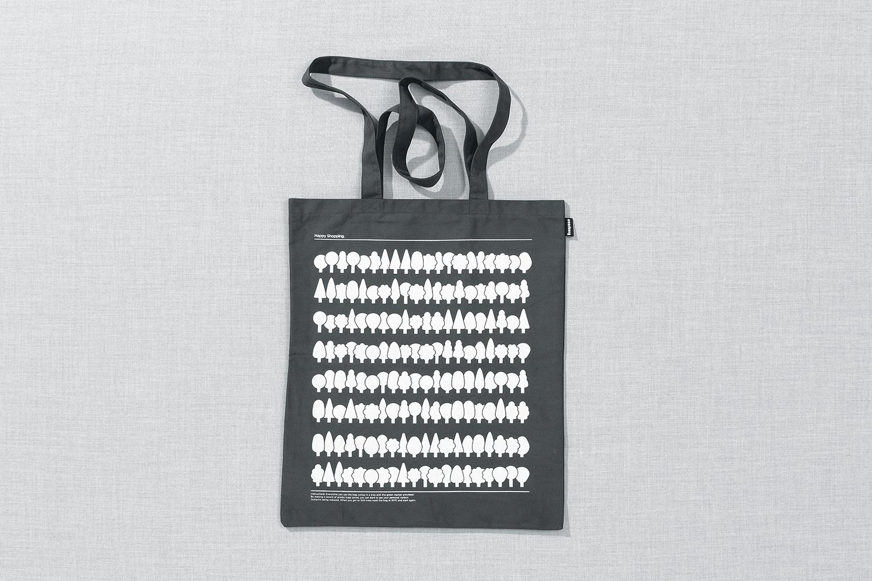 Progress Packaging Re Bag Tote Creative Luxury Bespoke BB Saunders Screen Printed Canvas
