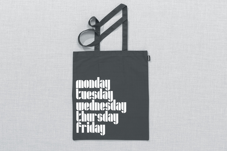 Progress Packaging Re Bag Tote Creative Luxury Bespoke Design Project Screen Printed