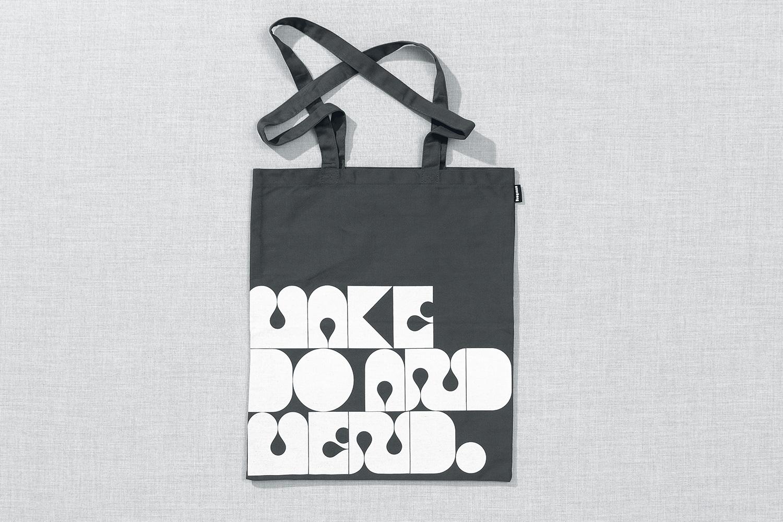 Progress Packaging Re Bag Tote Creative Luxury Bespoke Non Format Screen Printed