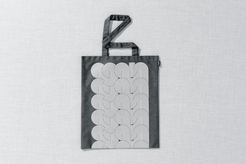 Progress Packaging Re Bag Tote Creative Luxury Bespoke SEA Design Screen Printed Canvas