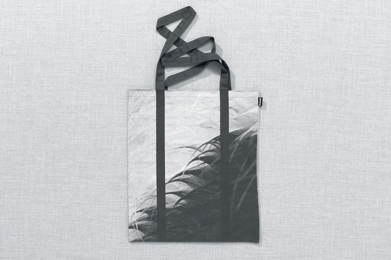 Progress Packaging Re Bag Tote Creative Luxury Bespoke Saturday Screen Printed Canvas
