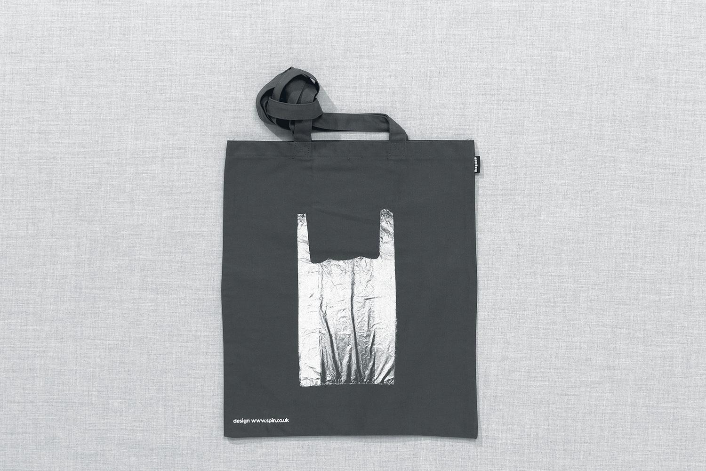 Progress Packaging Re Bag Tote Creative Luxury Bespoke Spin Screen Printed Canvas