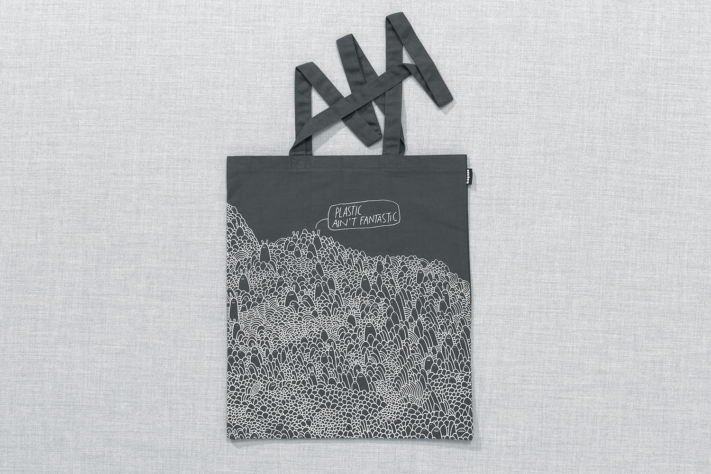 Progress Packaging Re Bag Tote Creative Luxury Bespoke Supermundane Screen Printed