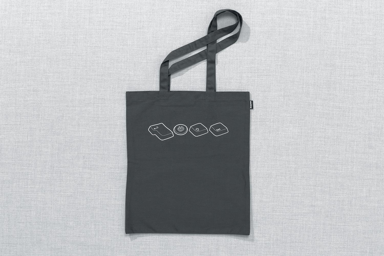 Progress Packaging Re Bag Tote Creative Luxury Bespoke TDR The Designers Republic Screen Printed Canvas