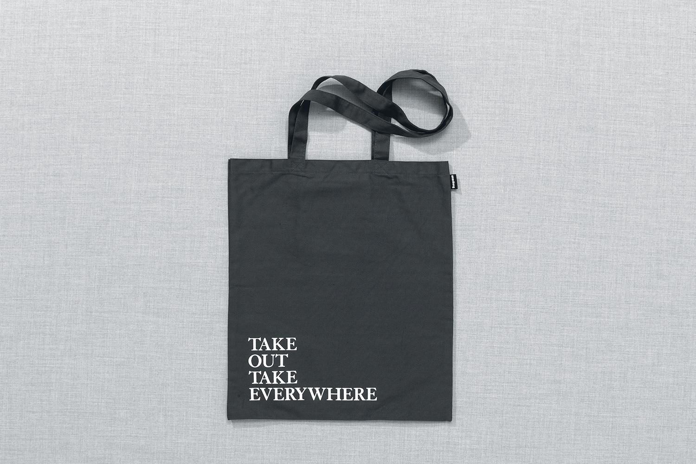 Progress Packaging Re Bag Tote Creative Luxury Bespoke Winkreative Screen Printed Canvas