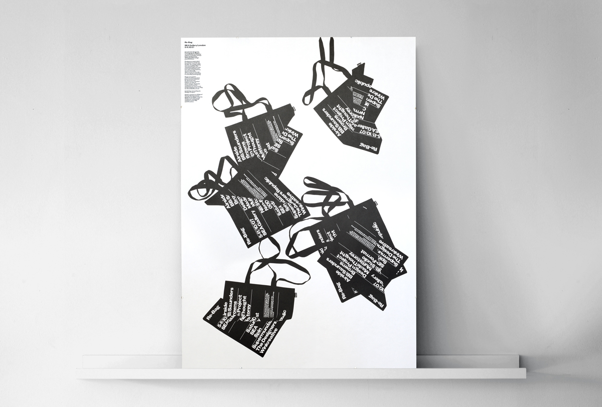 Progress Packaging Re Bag Tote Exhibition Creative Luxury Bespoke Printed Invitation Poster Frame