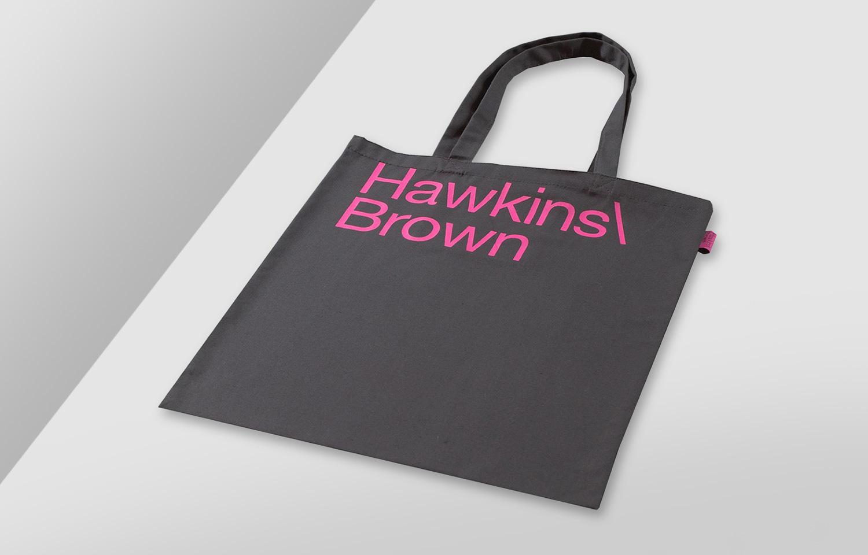 Progress Packaging SEA Hawkins Brown Canvas Tote Creative Bespoke