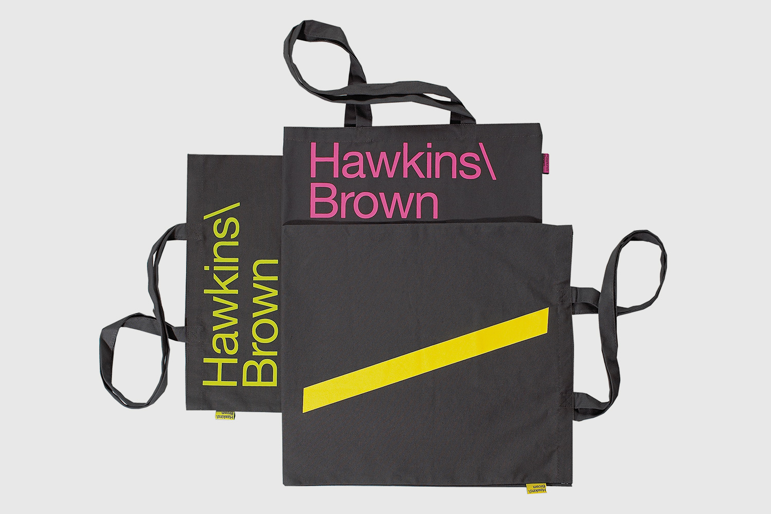 Progress Packaging SEA Hawkins Brown Thought Canvas Tote Creative Bespoke