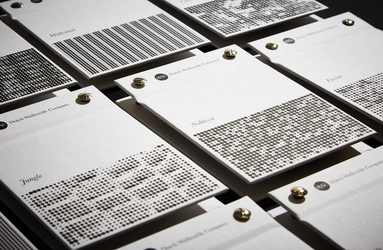 Progress Packaging Bespoke Covers Swatch Folders Dutch Wall Textile Co SVI Design