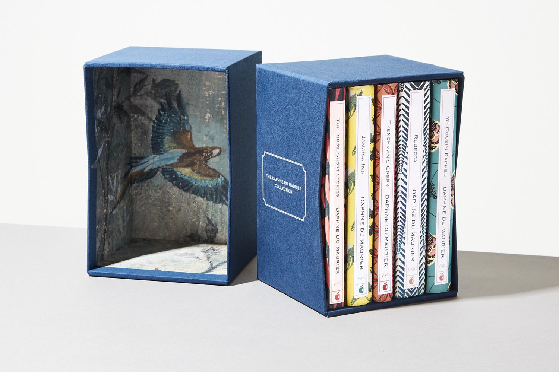 Progress Packaging Bespoke Slipcase Book Book cloth Collector Edition Box Set Chevron Cut Creative Partnership