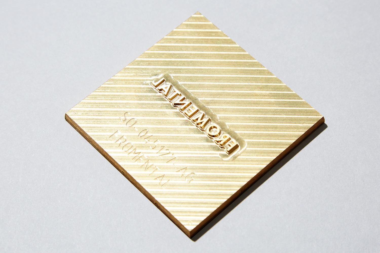 Progress Packaging Gold Silver Matallic Foiled Luxury Bespoke Hand Made Box