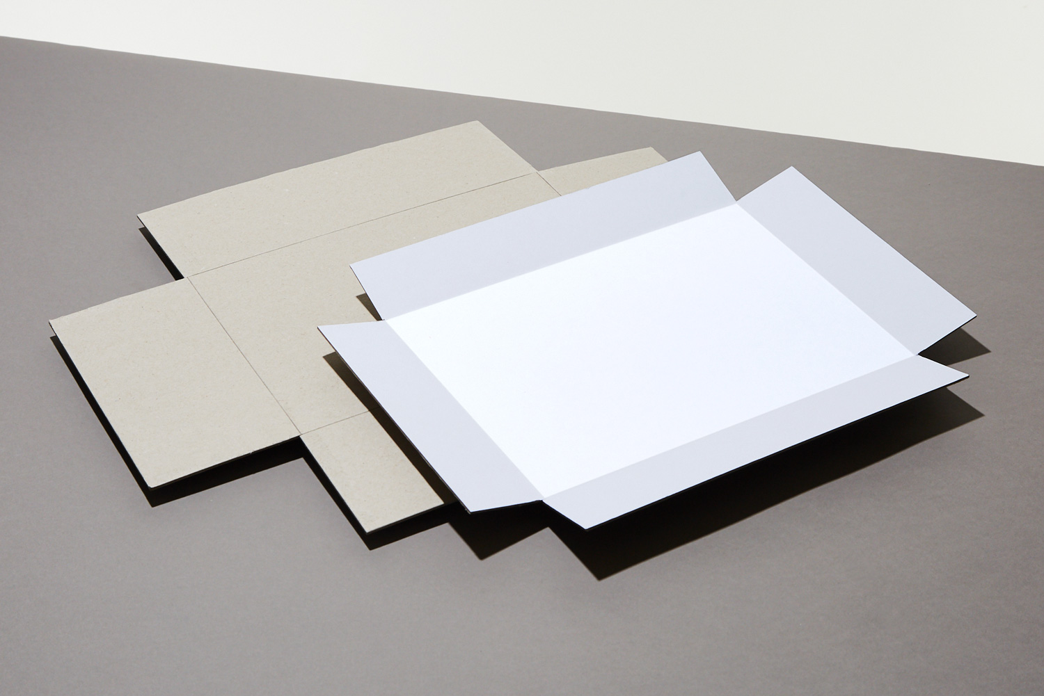 Progress Packaging Greyboard Paper Over Board Luxury Custom Shoulder Box Boxes Manufacture Scored Folded Lid And Base