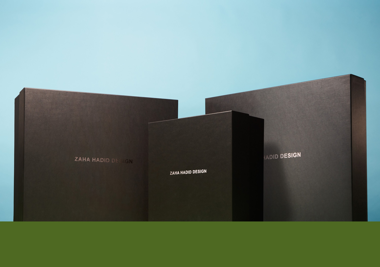 Progress Packaging Zaha Hadid Creative Hand Made Foil Blocked Rigid Box Decorative