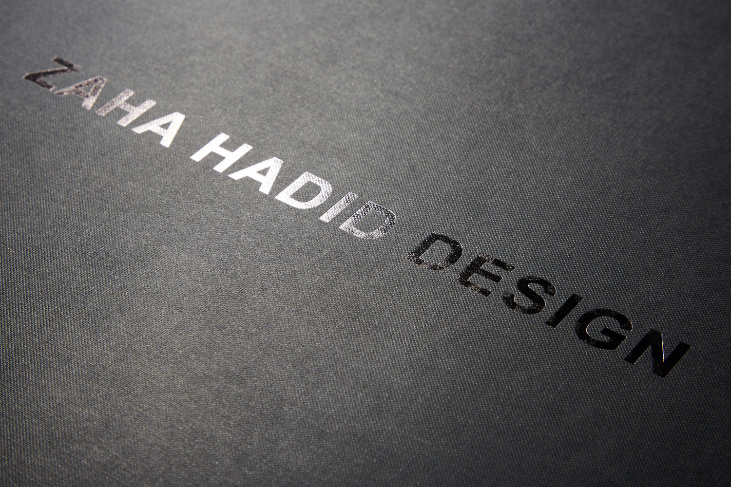 Progress Packaging Zaha Hadid Small Run Luxury Hand Made Foil Blocked Rigid Box Glassware