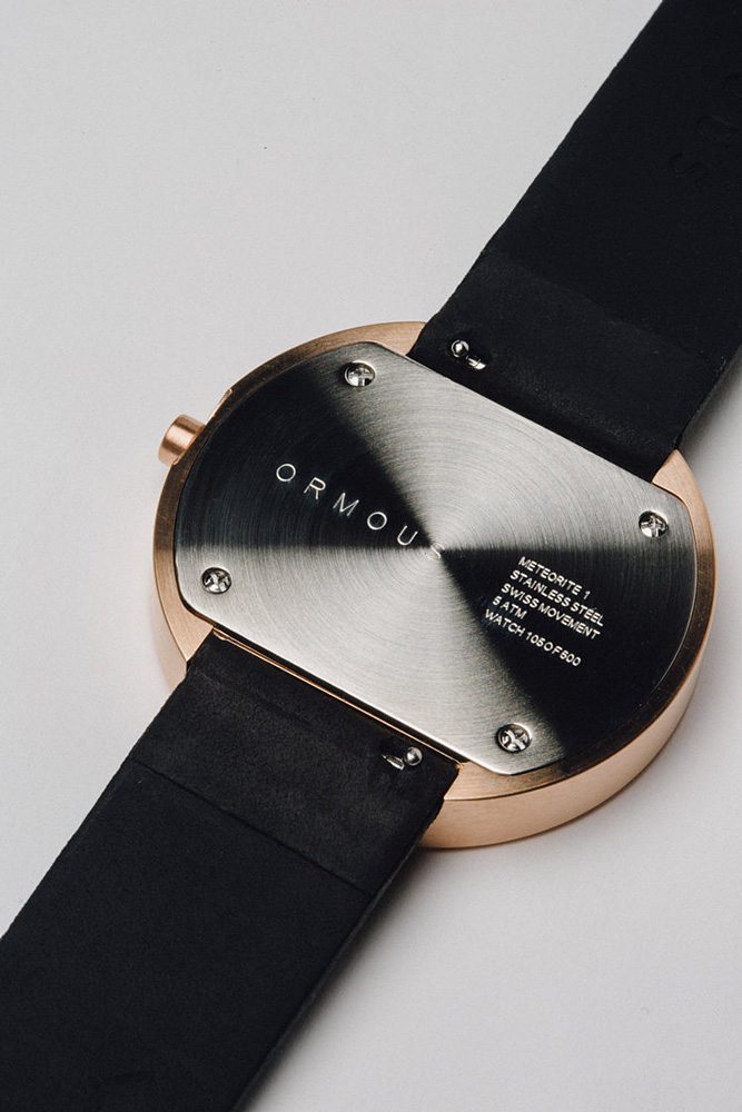 Progress Packaging Ormous Watch Limited Edition Design