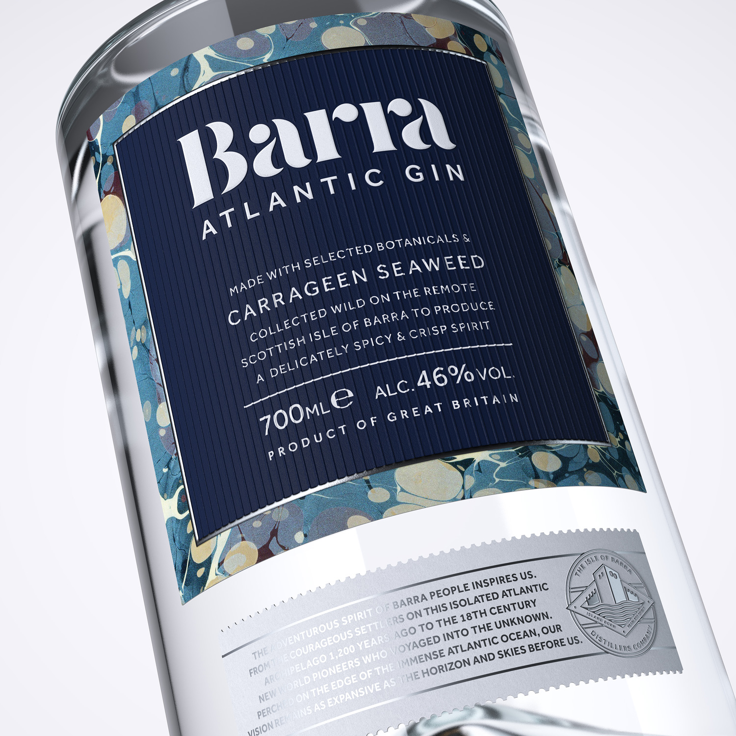 Progress Packaging Barra Gin Lovers Bespoke Spirit Liquor Drinks Brand Creative High Street Tube Premium