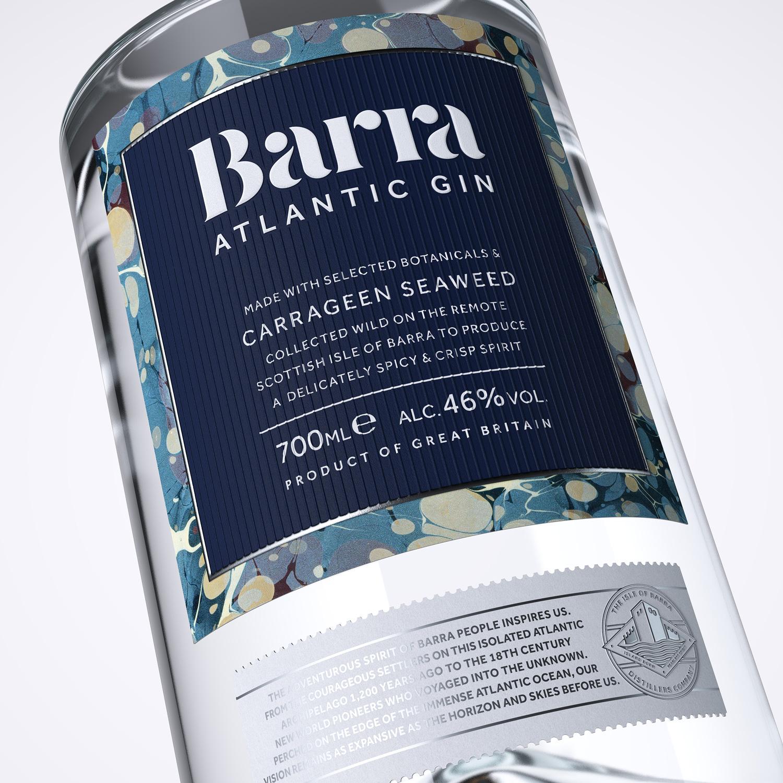 Progress Packaging Barra Gin Lovers Bespoke Spirit Liquor Drinks Brand Creative High Street Tube Premium