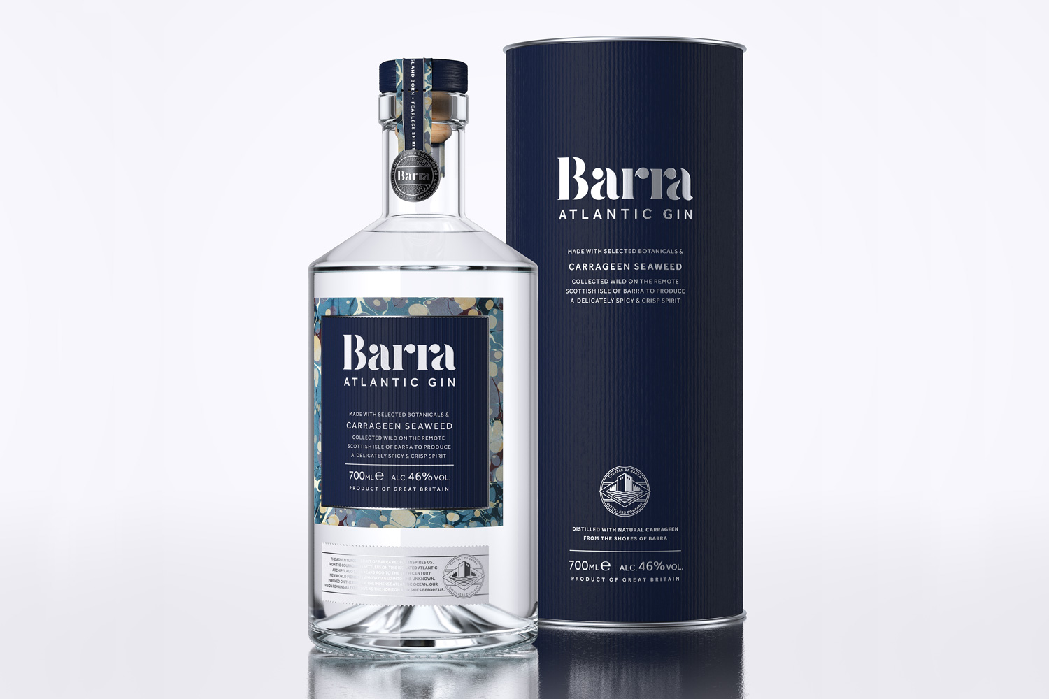 Progress Packaging Barra Gin Lovers Bespoke Spirit Liquor Drinks Brand Creative High Street Tube