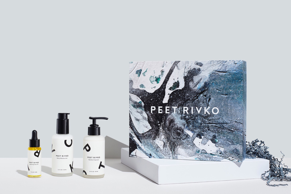 Progress Packaging Peet Rivko Skincare Minimal Beauty Boxes Custom Printed Health Bespoke Design Branding