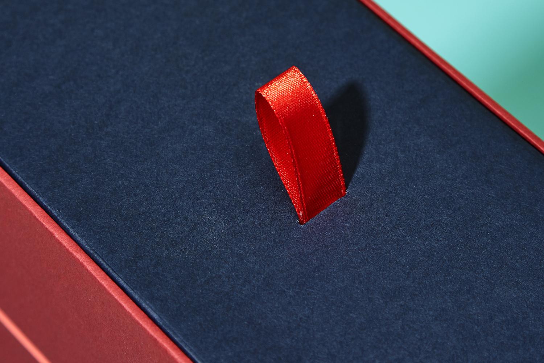 Progress Packaging Fenman House Branded Ribbon GF Smith Presentation Box Production Manufacture