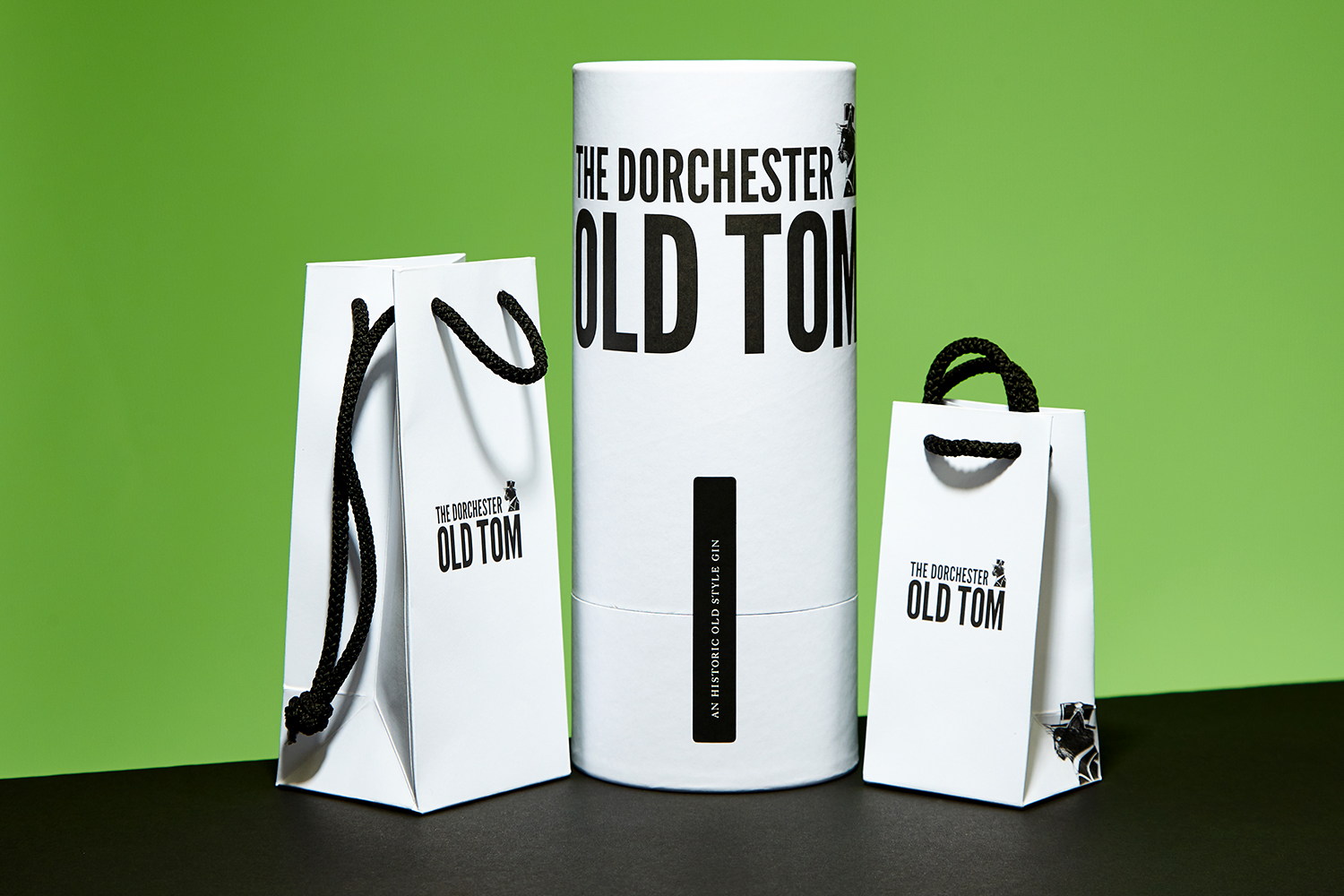 Progress Packaging The Dorchester Old Tom Gin Spirits Luxury Bespoke Minimal Alcohol Custom Tube Manufacture Production