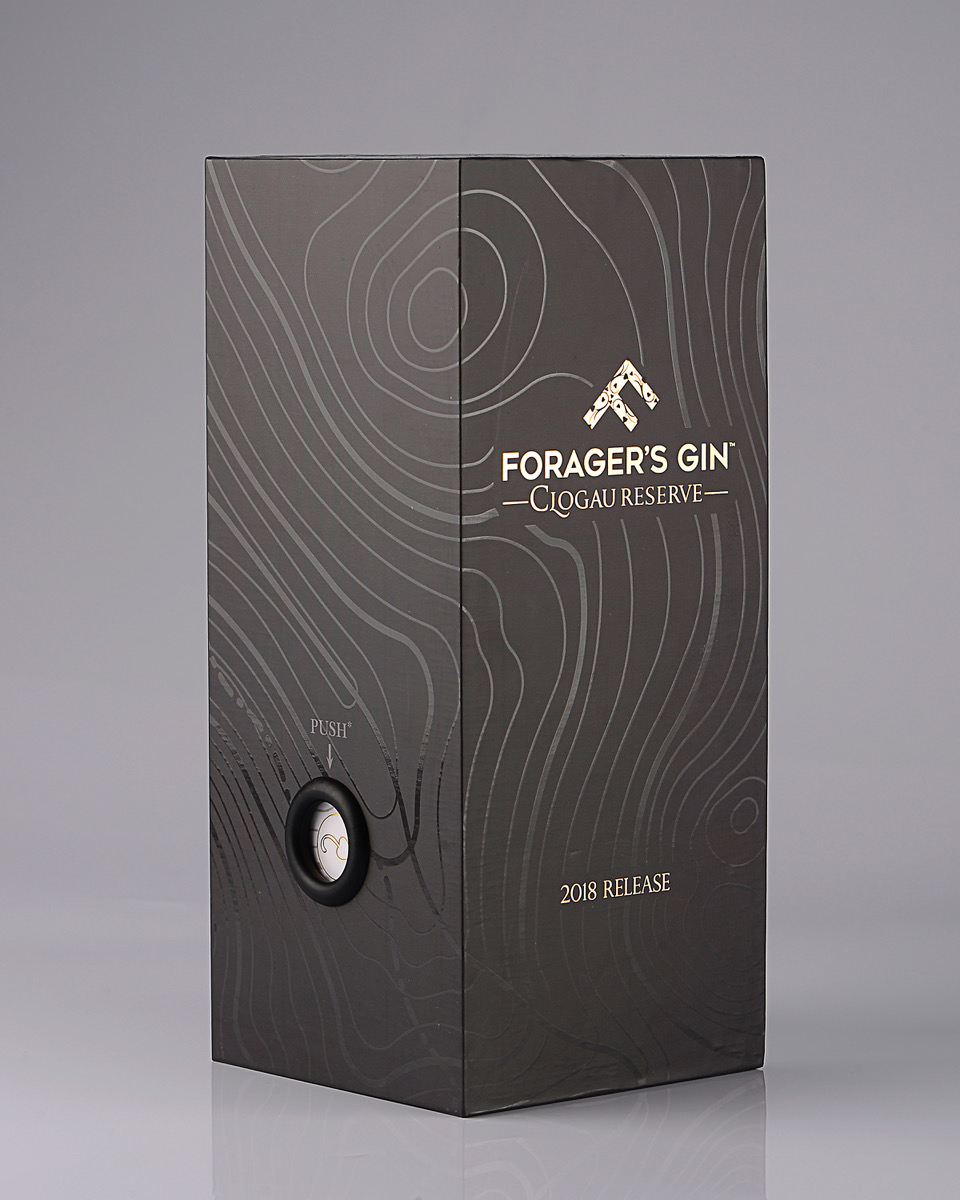 Progress Packaging Gin Alcohol Bespoke Luxury Special Occasion Royal Commemorative Foragers Creative Production