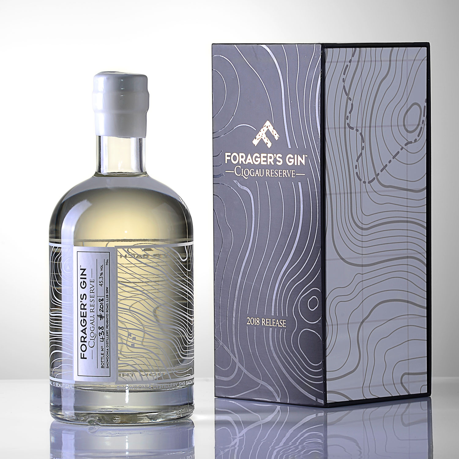 Progress Packaging Gin Alcohol Bespoke Luxury Special Occasion Royal Commemorative Foragers