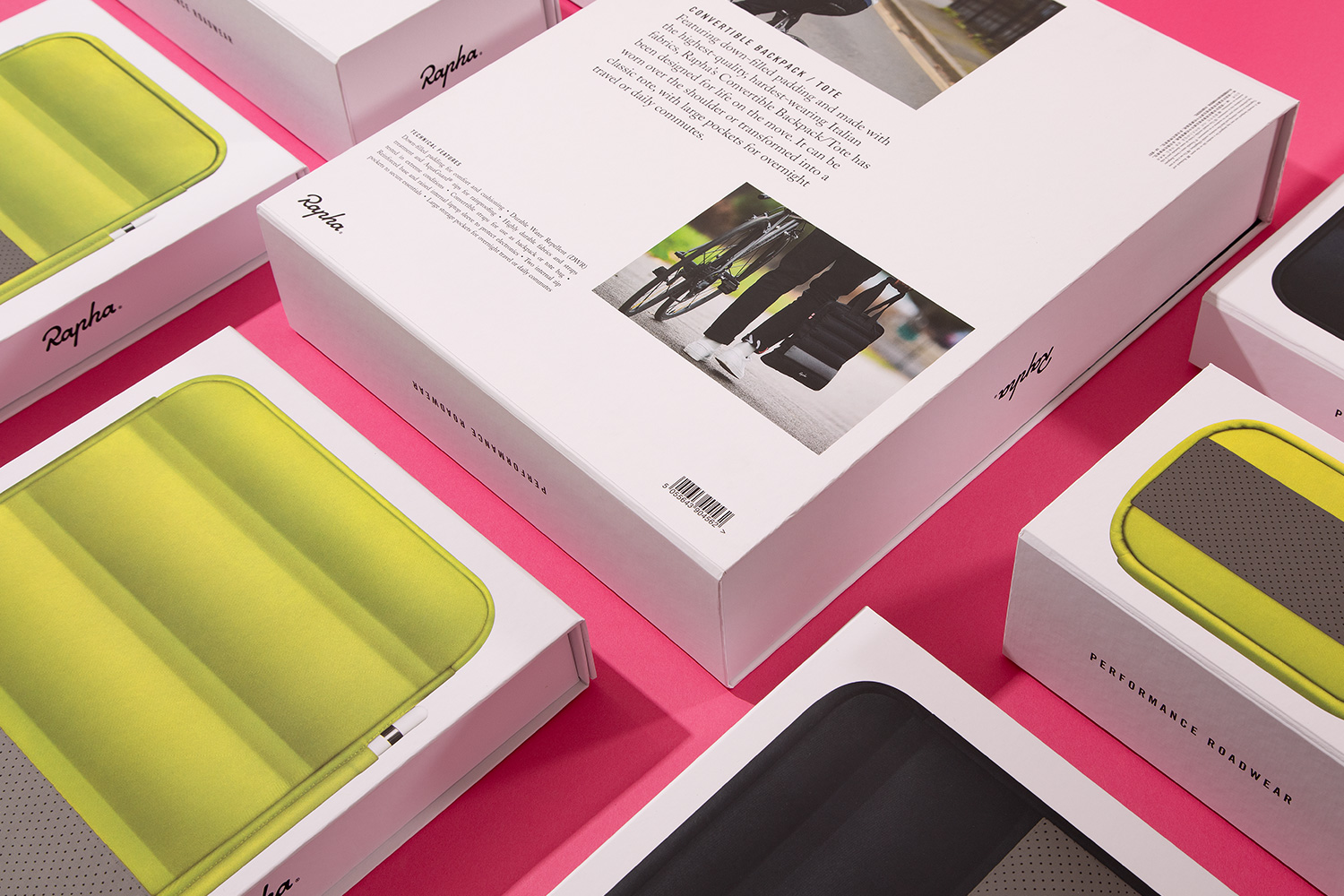 Progress Packaging Partners Rapha Apple Cycling Apparel Luxury Technology Ipone Ipad Laptop Luggage Mobile Phone Cell Store Bespoke Collapsible Retail 2.1