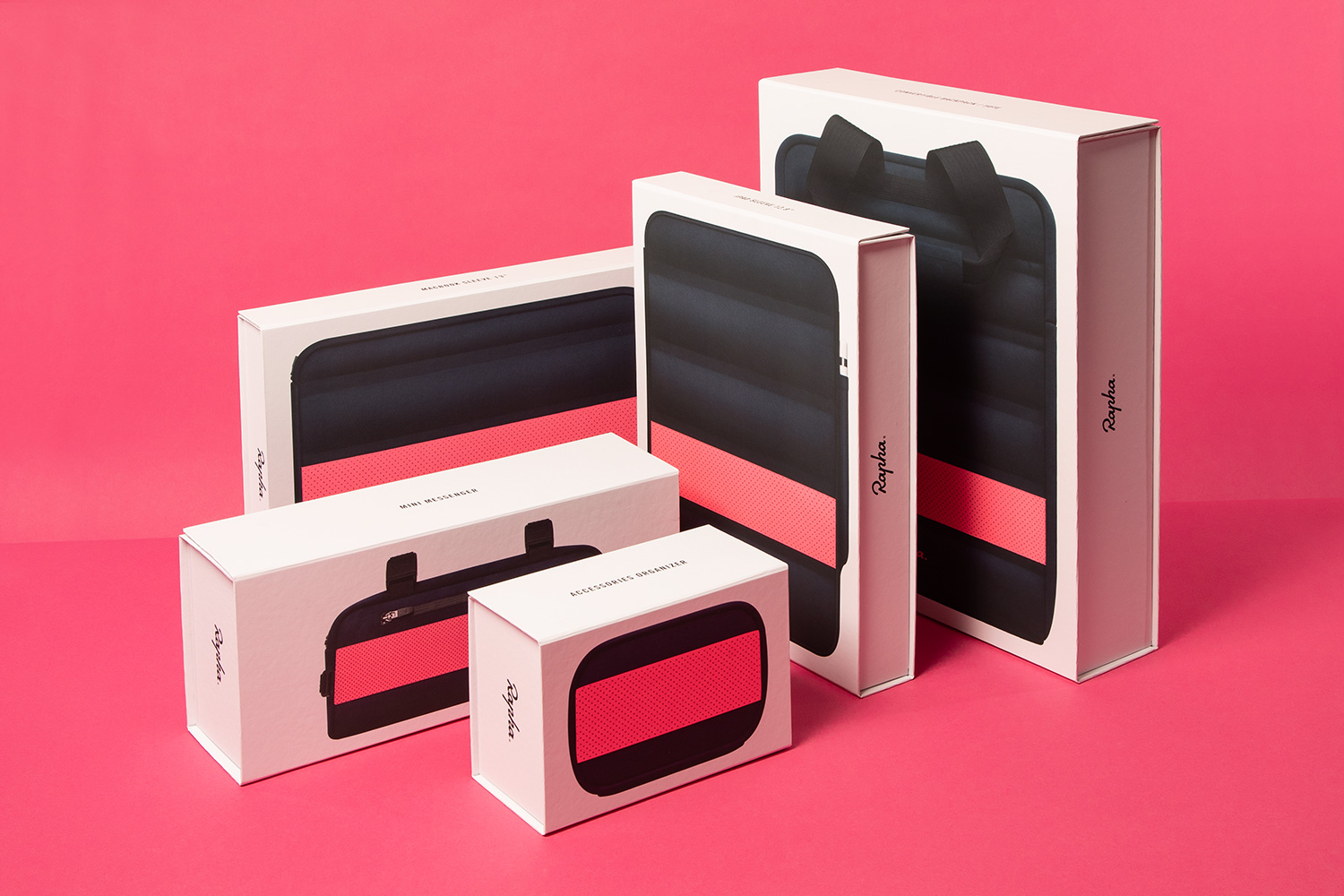 Progress Packaging Partners Rapha Apple Cycling Apparel Luxury Technology Ipone Ipad Laptop Luggage Mobile Phone Cell Store Bespoke Collapsible Retail