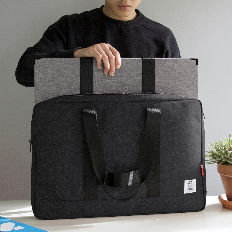 Progress Packaging Custom Made Portfolio Bag Art Carrier Designer Case Graphic Design Luggage Carrier Presentation Brief Case Large Format Manufacture 3