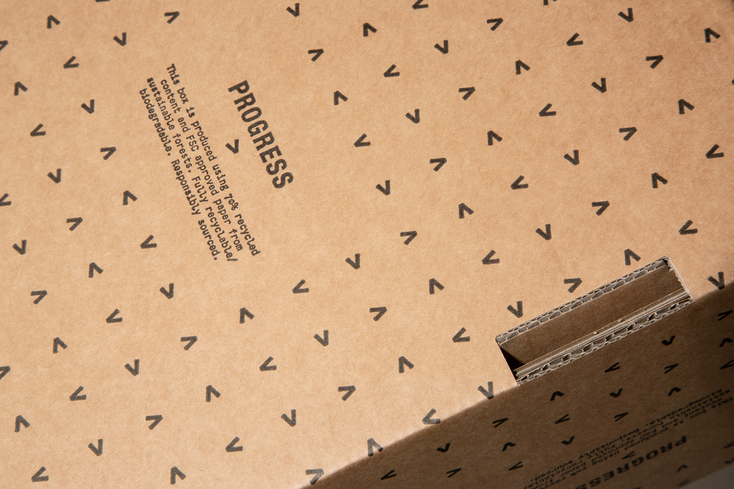 Progress Packaging Corrugated Mailing Box Carton High Quality Shipping Branded Bespoke Printed Retail Luxury Recyclable Environmentally Friendly Eco Durable E Commerce Reusable Kraft 2