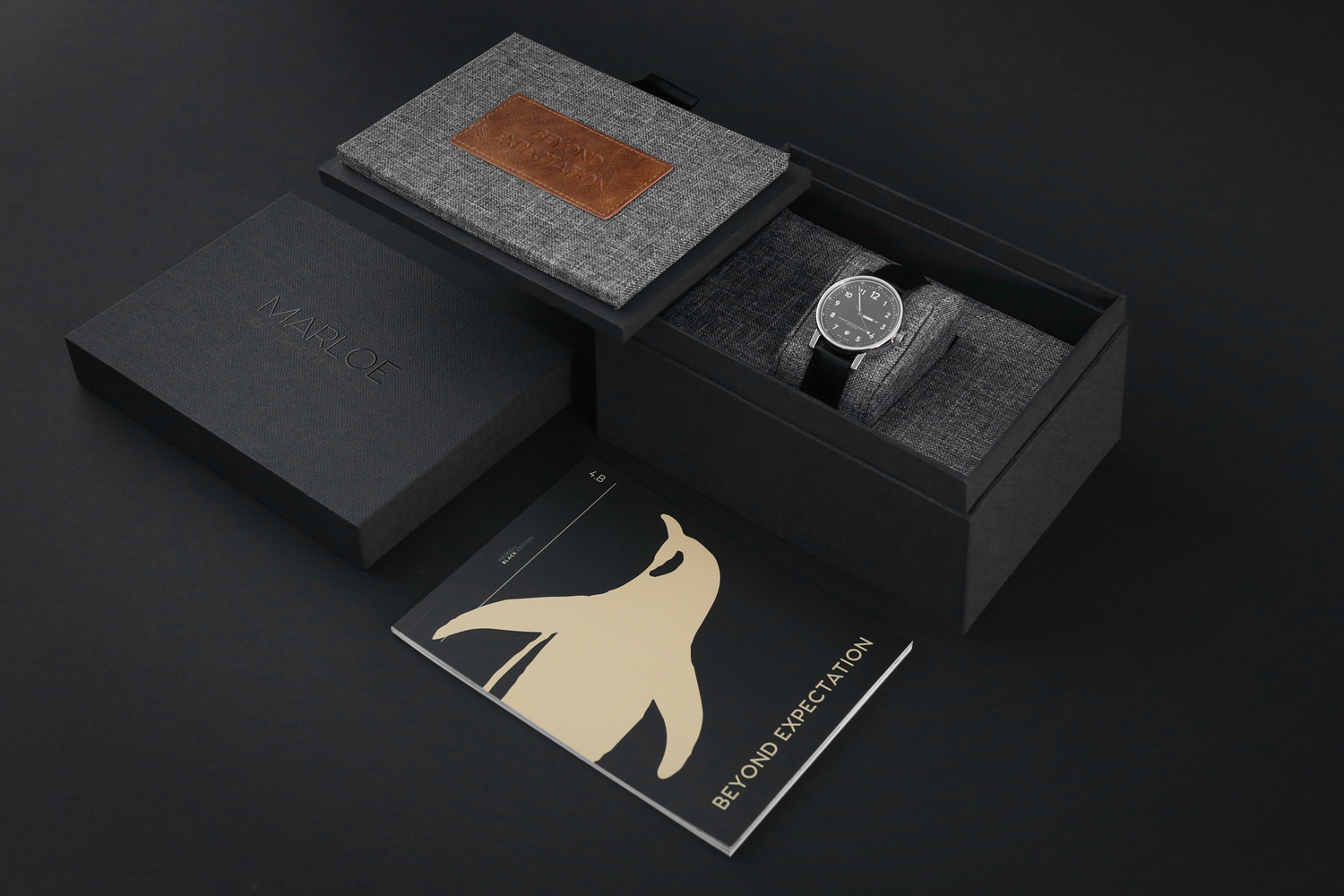 Progress Packaging Production Manufacture Luxury Watch Box Timepiece Print Retail Fsc Approved Recyclable Eco Friendly Creative Bespoke
