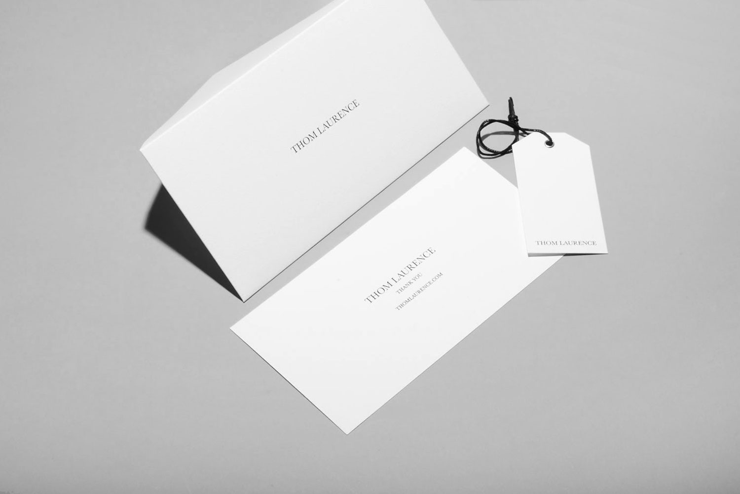 Progress Packaging Thom Laurence Bespoke Luxury Colorplan Embossed Blackfoil Box Manufacture Production Print 06