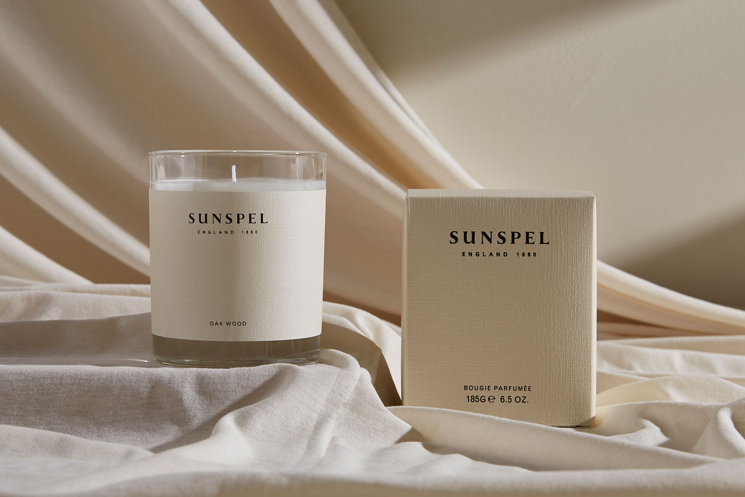 Progress Packaging Sunspel Beauty Candle Glass Retail Luxury Carton Gift Branded Bespoke Creative Black Foill Manufacture Production 03