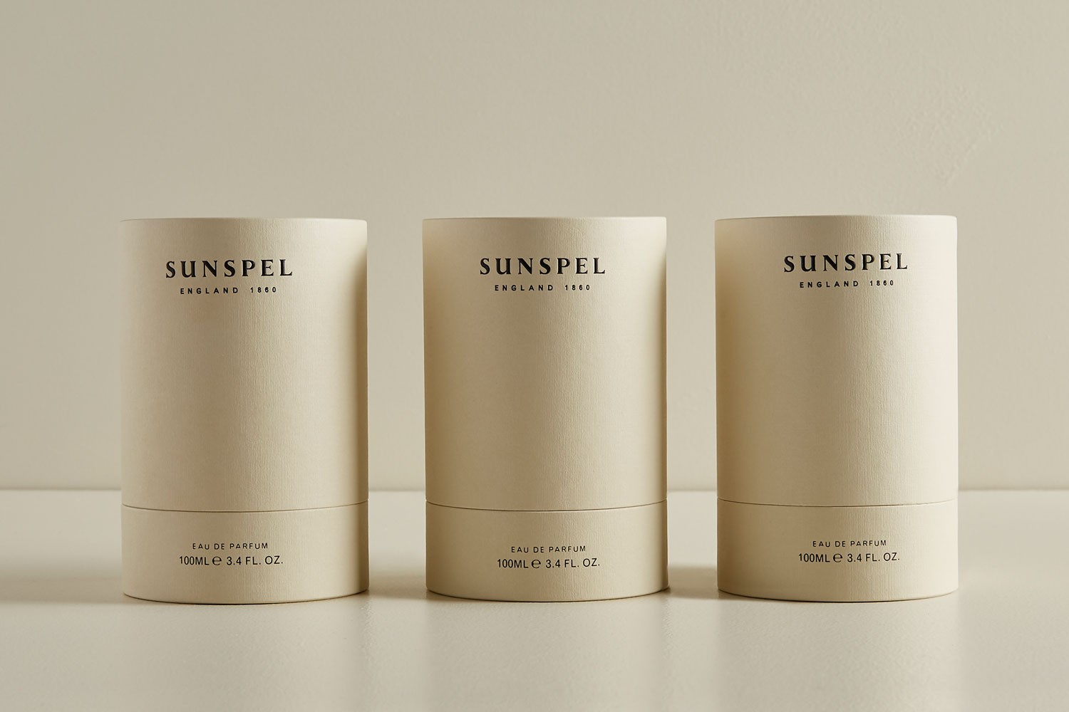 Progress Packaging Sunspel Beauty Fragrance Bottle Candle Glass Retail Luxury Carton Gift Branded Bespoke Creative Black Foill Manufacture Production 02