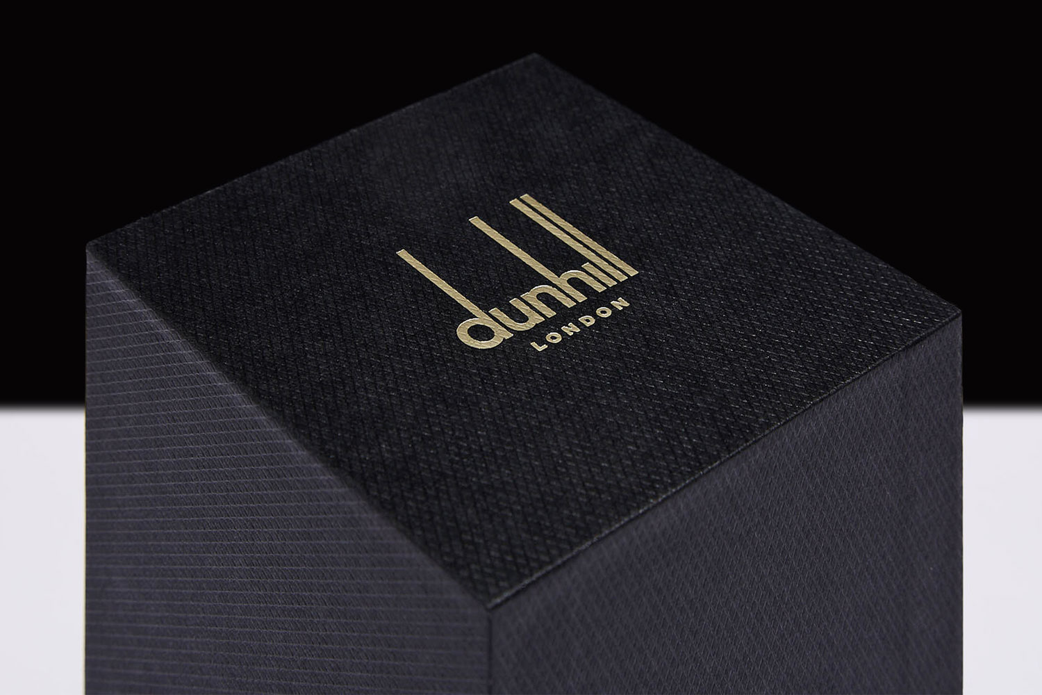 Progress Packaging Dunhill London Luxury Collection Rigid Boxes Sharp Edge Custom Embossed Paper Foil Block Bespoke Branded Retail 02