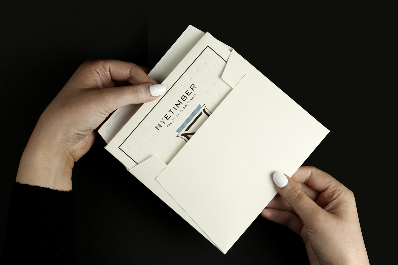 Wine Gift Voucher Pack Envelope Card Premium Luxury Drinks Spirits Bespoke Production Printed Foiled Progress Packaging 4